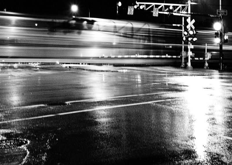 """#17 """"Train Kept a Rollin'"""" by MetilHed. Extreme B&W conversion w/Lightroom2"""