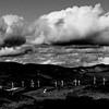 Wind Farm at Mount Cardigan. April 13