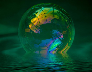 1 Floating Bubble