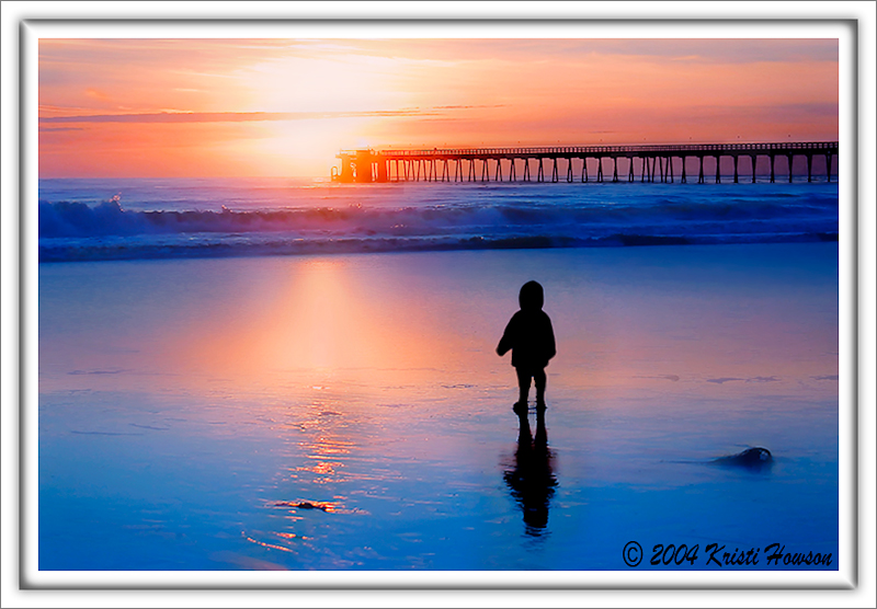 Little Boy By The Sea