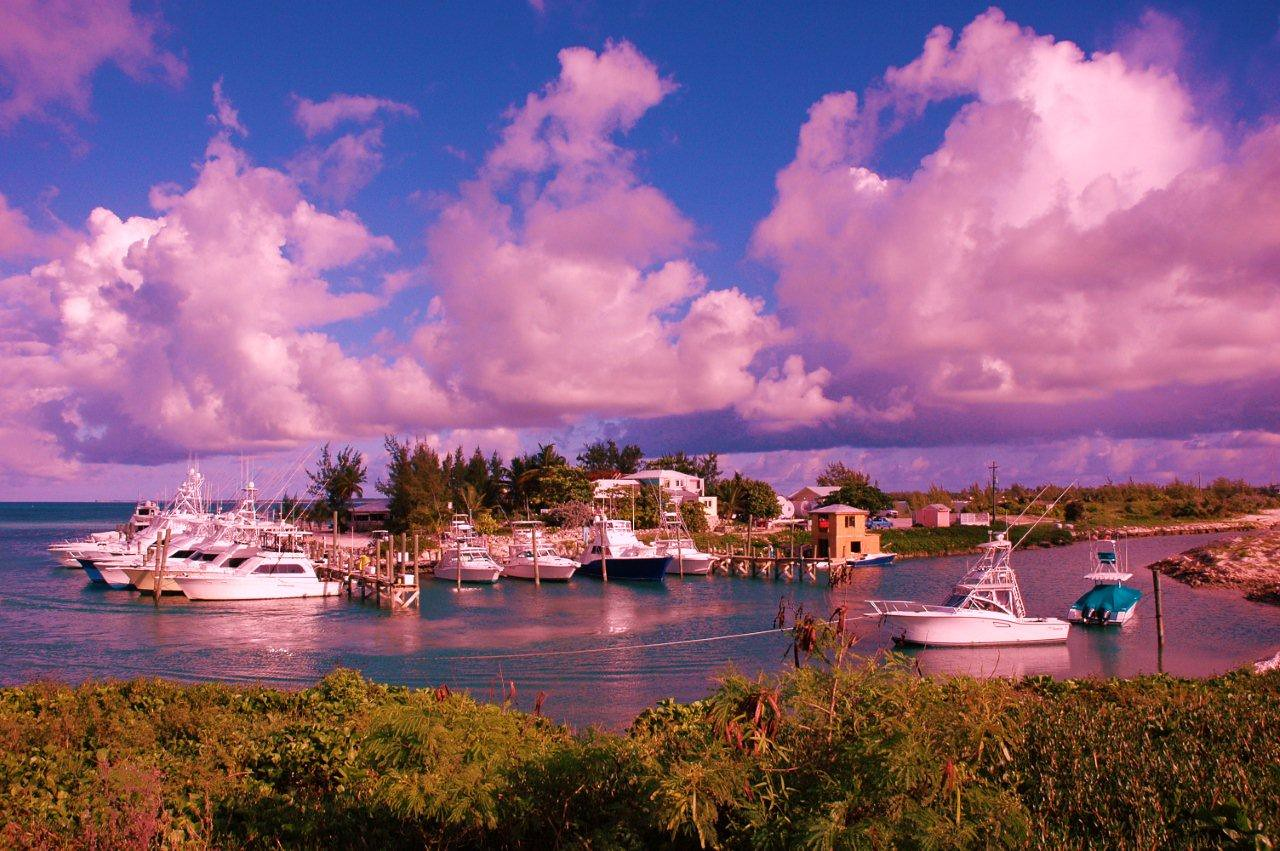 Summer Point Marina, Rum Cay, Bahamas