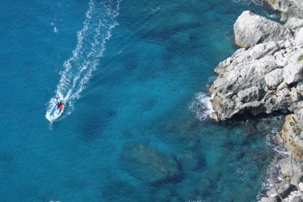 On the Italian island of Capri