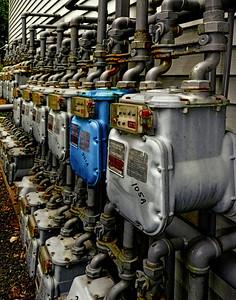 Gas Meter Line-Up
