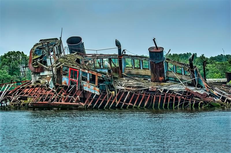 4. Broken Staten Island Ferry