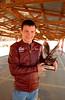 Junior Champ champion Tyler Warriner<br />  Dexter Speedway 2010
