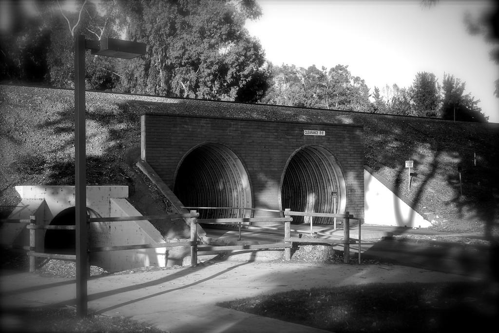 Ridge Route Car Tunnel.