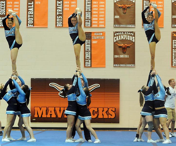 Region 2-AAAA Cheerleading Championships