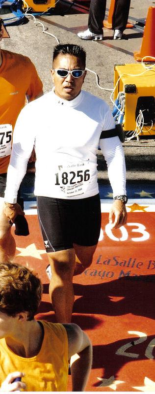 Chicago Marathon 2003