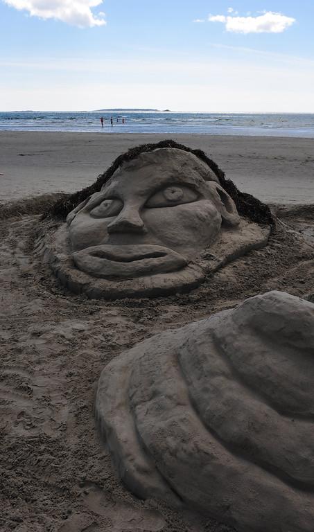 Clam Harbour Sand Castle Contest