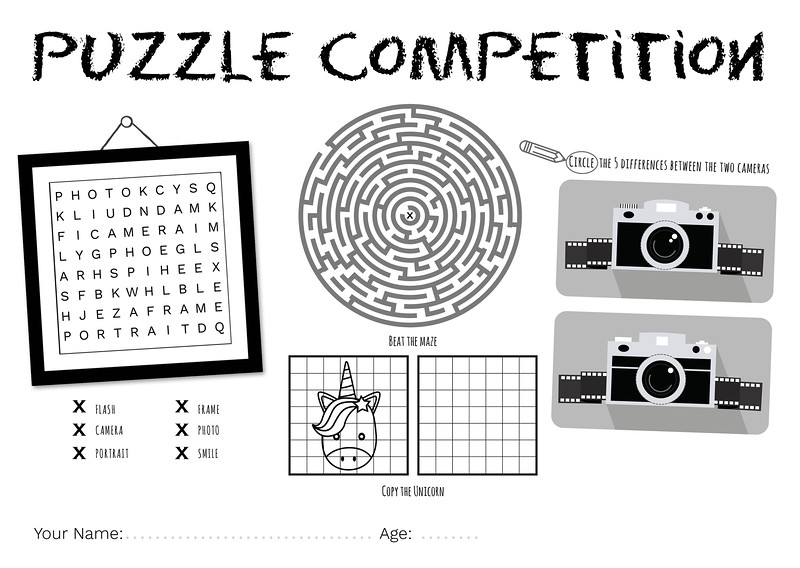 Puzzle Pad mono [No Prize]