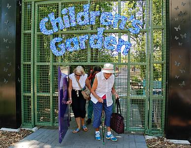 Children in the Garden,