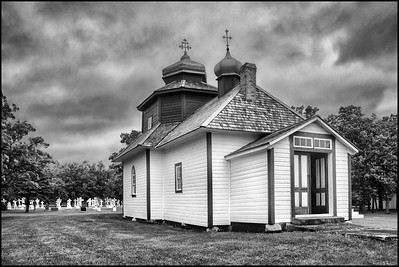 St. Michael's Ukrainian Orthodox Church (1899) - 1st Ukranian church in Canada, Gardenton, MB