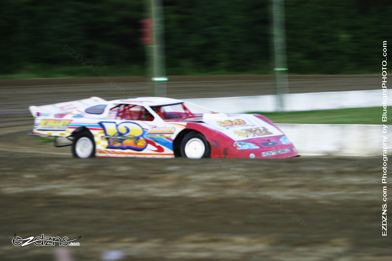 """Photography by BluelightPHOTO.com"" Photos by Filip Pesek <br /> Delaware International Speedway Auguest 12, 2006 Gary Simpson Late Model #12K"