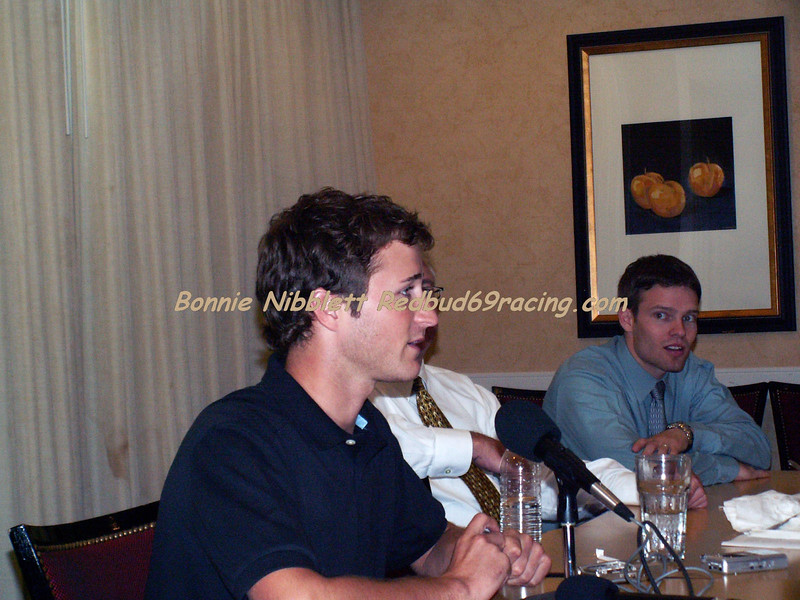 September 5, 2007 Kasey Kahne was in town to start the promotions of the upcoming NASCAR Nextel Races Sept. 21-23, 2007