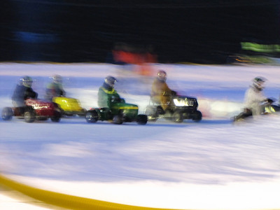 elkton snow mobile races 2.5.11