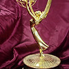 Fitchburg native Eric Selinga's Emmy award for his contribution to NBC's broadcast of the 2008 Beijing Olympic Games is currently on display in the Fitchburg Public Library, right in time for this year's award show on Monday. SENTINEL & ENTERPRISE / Ashley Green