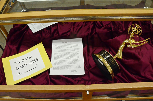 Emmy award on display at FPL