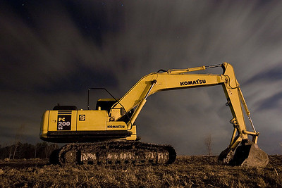 #04 Komatsu by cosmonaut 100iso, 60sec, f/4.5 Exif: 1/13/09 E-3, 17mm 60s @ f4.5 Flash 255 Man exp ISO100
