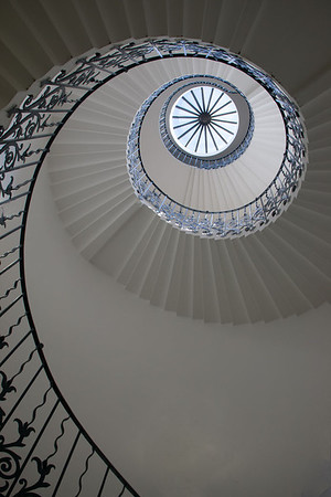 John Morison - Spiral staircase at the Queens house