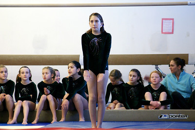 Bea and the girls at Flipside meet! Intense look....