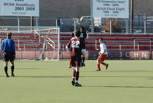Fordham at St Johns 1 first half
