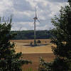 "Gamlingay. The now operational Gamlingay Community Turbine, August 2013. This one was awarded first in class, with the judge commenting ""Well, there had to be one of these in this year! Like the framing and the lighting""."