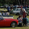 People. The 2012 Gamlingay Show car rally, and tea in the sun!
