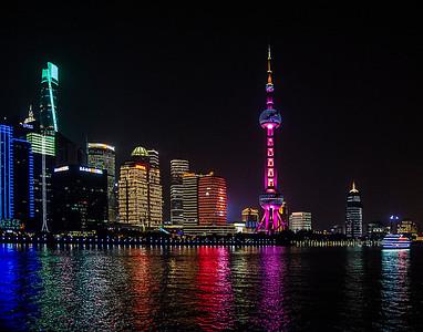 2 Night Skyline at Shanghai