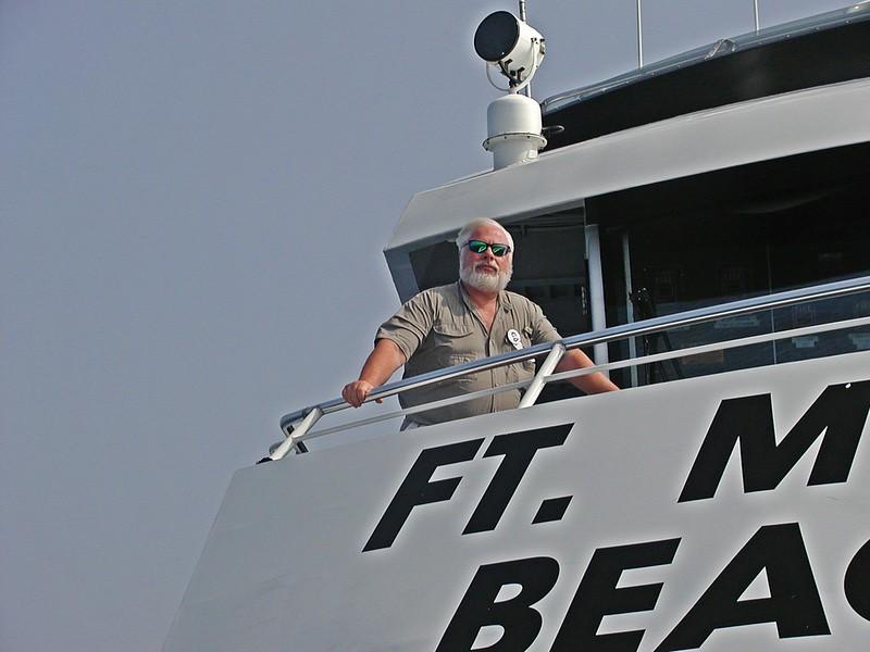Bob on the Atlanticat