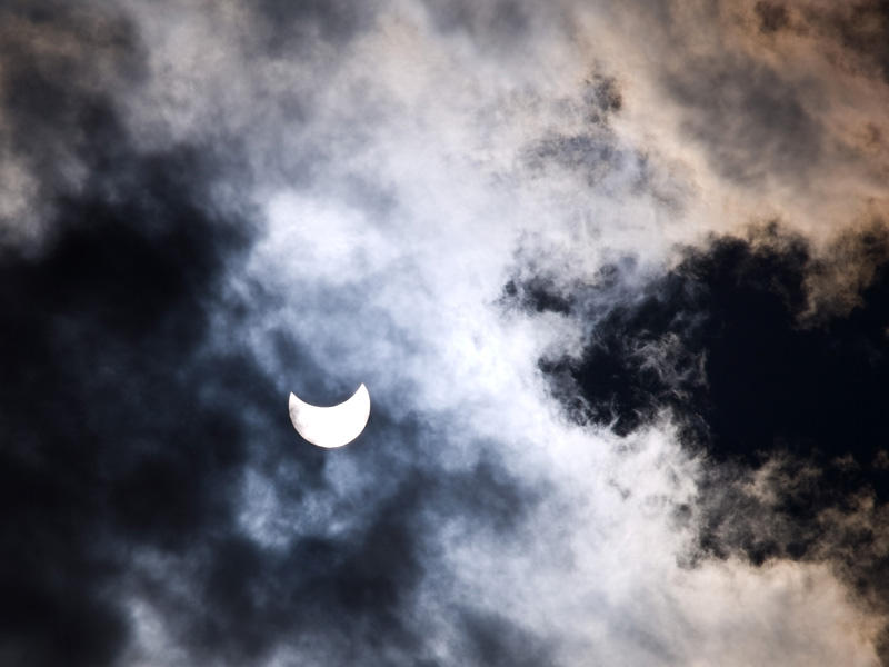 """6 - """"Hidden Sun (Partial Solar Eclipse)"""" - by Mick Finn E-330 and 40-150mkII, f16, 1/4000 sec, full exif in image.  Admittedly I got really lucky with the timing of this months theme. The eclipse was the 1st of August, the next eclipse here in Finland will be in 118 years... :)"""