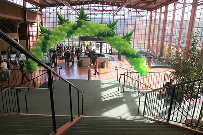 Main lobby of the Concourse Exhibition Center, 635 8th Street, San Francisco.