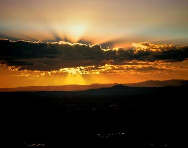 1. Sunrise in Santa Fe