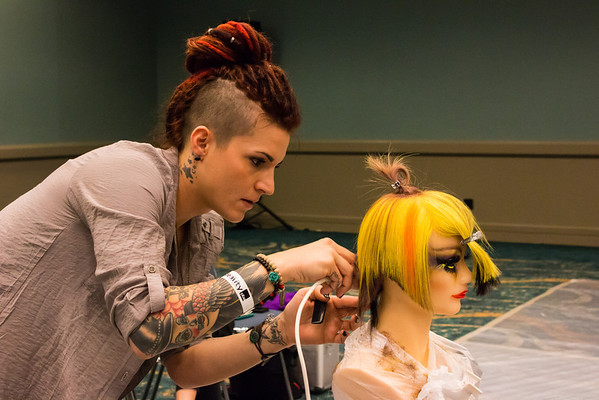 ISSE 2014 Hair Competitions