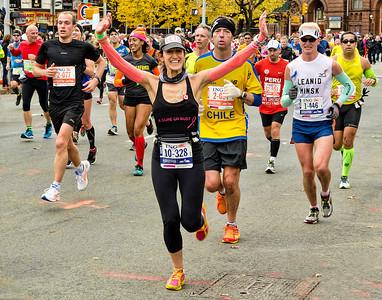 6 NYC Marathon Runners