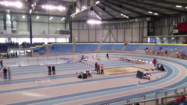 60m haies cadettes filles - Cassandre Evans (couloir 5) - 10.20 (4ème)