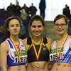 Cassandre Evans championne francophone toutes catégories en longueur