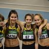 Championnats de Belgique de relais 4x200m : record du club scolaires