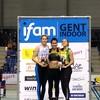 IFAM : Cassandre Evans remporte la longueur - Record du club pour Léa Delcommune