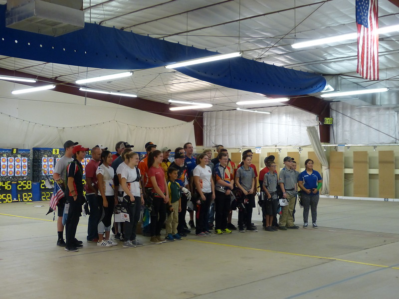this is the entire group of finalist shooters (the archers who made the cut)