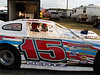 Dave Hertz # 15 late model and first appearance of the year  July 21, 2007 Delaware International Speedway