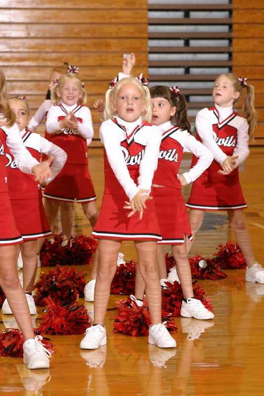 Lawrenceville East (Cheer-off 1st and 2nd grade 10-3-04)
