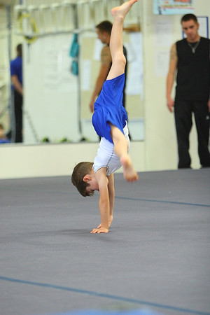 Logans First Gymnastics meet