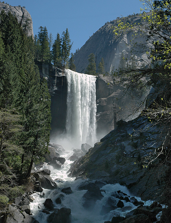 """Vernal Falls""  Yosemite National Park  Class: Yosemite Place: <b><font color=""red"">2nd</font></b>"