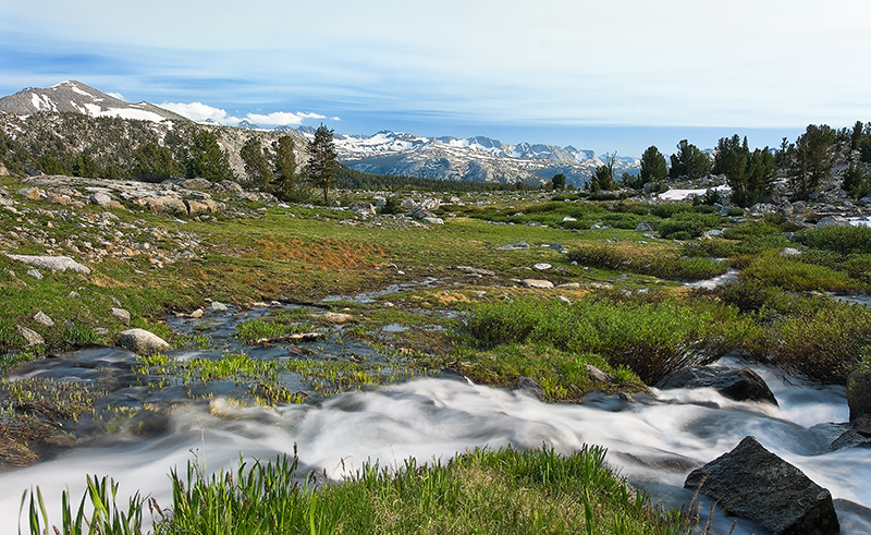 """Gaylor Lakes Basin""<br /> Yosemite National Park, CA<br /> <br /> Section: Professional Enlargements<br /> Class: Landscapes, Natural <br /> Place: Honorable Mention"