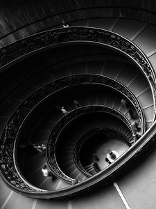 Spiral Picture taken in the Vatican's museum on may 30th by Viperman500