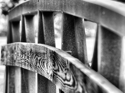 """Old Bridge Railing""  By: Pontiac005"