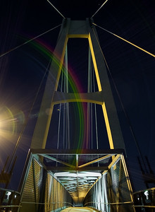 Night Light   pedestrian footbridge in Lake Mary FL 43 username CRussell