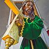 GM - Statue of Jesus w/ cross.