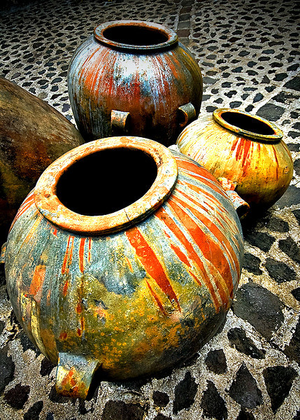 AW - Guatemalan Vases.