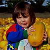 HM - Nicole in the pumpkin patch.